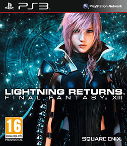Lightning Returns: Final Fantasy XIII PlayStation 3 Cover Art