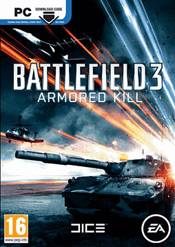 Battlefield 3: Armored Kill PC Games Cover Art