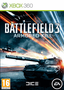 Battlefield 3: Armored Kill Xbox Live Cover Art