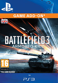 Battlefield 3: Armored Kill PlayStation Network Cover Art