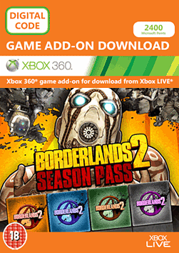 Borderlands 2 Season Pass Xbox Live Cover Art