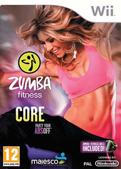 Zumba Core Wii Cover Art