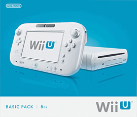 White Wii U Basic Console Wii U 