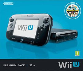Black Wii U Premium Console Wii U 