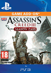 Assassin's Creed III Season Pass PlayStation Network Cover Art