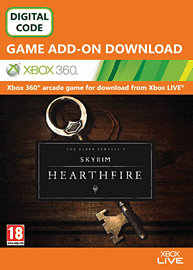 The Elder Scrolls V: Skyrim - Hearthfire Xbox Live Cover Art
