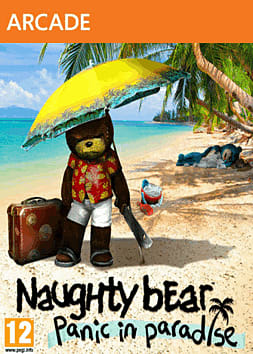 Naughty Bear: Panic in Paradise Xbox Live Cover Art