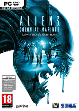 Aliens: Colonial Marines - Limited Edition PC Games Cover Art