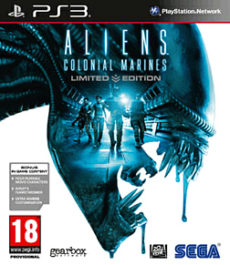 Aliens: Colonial Marines - Limited Edition PlayStation 3 Cover Art