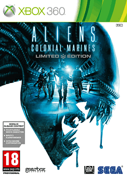 Aliens: Colonial Marines - Limited Edition Xbox 360 Cover Art