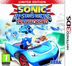 Sonic & All-Stars Racing Transformed - Limited Edition 3DS Cover Art