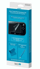 Wii U GamePad Accessory Set Accessories