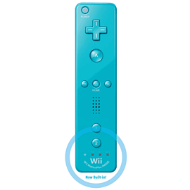 Wii U Remote Plus Blue Accessories
