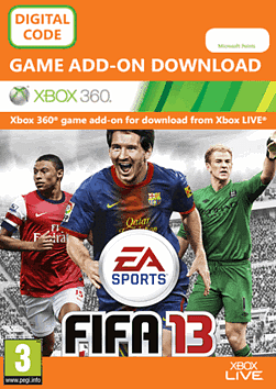 FIFA 13: EA Ultimate Team Xbox Live Cover Art