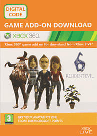 Resident Evil 6 - Avatar Items Xbox Live Cover Art