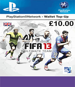FIFA 13: EA Ultimate Team PlayStation Network Cover Art