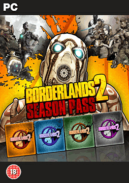 Borderlands 2 Season Pass PC Games Cover Art