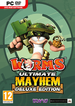 Worms: Ultimate Mahem Deluxe Edition PC Games Cover Art