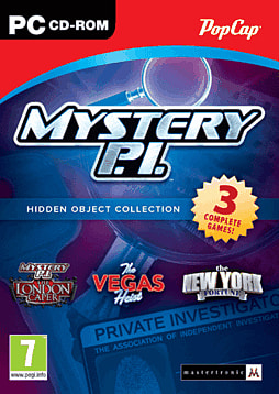 Mystery PI Triple Pack Hidden Object Collection PC Games Cover Art
