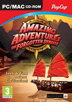 Amazing Adventures: The Forgotten Dynasty PC Games Cover Art