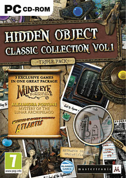 Hidden Object Classic Collection Volume 1 PC Games Cover Art