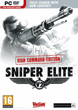 Sniper Elite V2: High Command Edition PC Games Cover Art