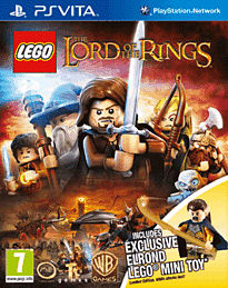 LEGO Lord of the Rings - Exclusive Elrond Edition PS Vita Cover Art