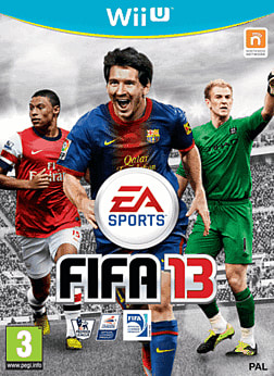 FIFA 13 Wii U Cover Art