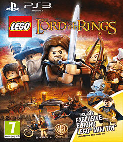 LEGO Lord of the Rings - Exclusive Elrond Edition PlayStation 3 Cover Art