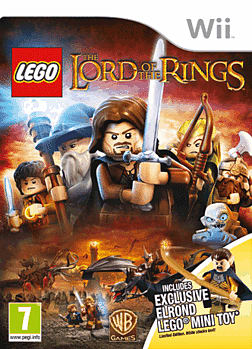 LEGO Lord of the Rings - Exclusive Elrond Edition Wii Cover Art