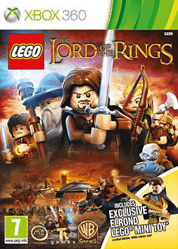 LEGO Lord of the Rings - Exclusive Elrond Edition Xbox 360 Cover Art