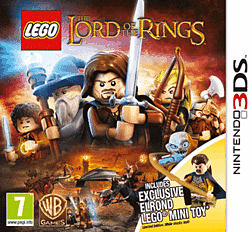 LEGO Lord of the Rings - Exclusive Elrond Edition 3DS Cover Art