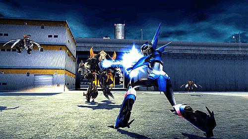 Transformers Prime Wii U Cover Art
