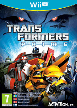 Transformers Prime Wii U Cover Art