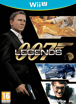 James Bond: 007 Legends Wii U Cover Art