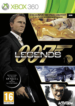 James Bond: 007 Legends with Exclusive 007 Pack Xbox 360 Cover Art