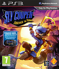 Sly Cooper: Thieves in Time PlayStation 3 Cover Art