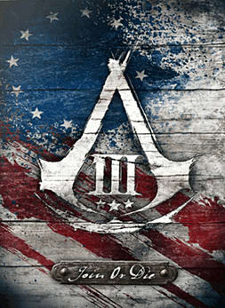 Assassin's Creed III Join or Die Collector's Edition Wii U Cover Art