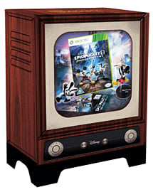 Disney Epic Mickey 2: The Power of Two - Exclusive Collector's Edition Xbox-360 Cover Art