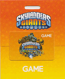 GAME Stores £10 Skylanders Giants Gift Card Gifts
