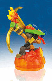 Flameslinger - Skylanders Giants Character Toys and Gadgets