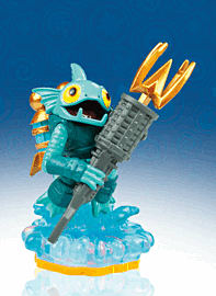 Gill Grunt - Skylanders Giants Character Toys and Gadgets