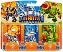 Skylanders Giants Character Triple Pack - Chill, Zook and Ignitor Toys and Gadgets