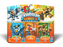 Skylanders Giants Character Triple Pack - Sonic Boom, Sprocket, Stump Smash Accessories