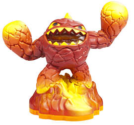 Lightcore Eruptor - Skylanders Giants Character Toys and Gadgets
