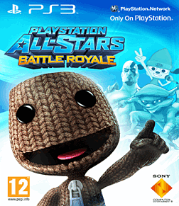 PlayStation All-Stars Battle Royale with Exclusive Sackboy Cover PlayStation-3