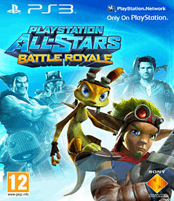 PlayStation All-Stars Battle Royale with Exclusive Jak & Daxter Cover PlayStation-3