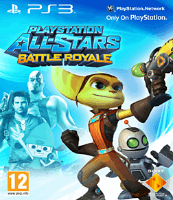 PlayStation All-Stars Battle Royale with Exclusive Ratchet & Clank Cover PlayStation-3