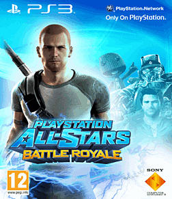 PlayStation All-Stars Battle Royale with Exclusive Cole McGrath Cover PlayStation-3