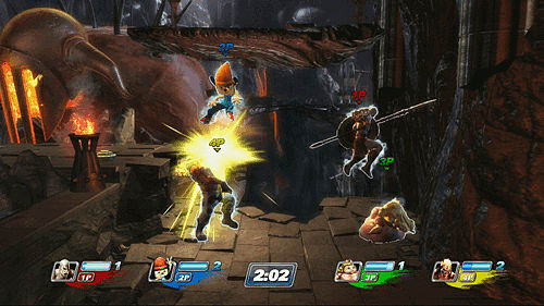 PlayStation all-Stars Battle Royale on PlayStation 3 and PlayStation Vita at GAME